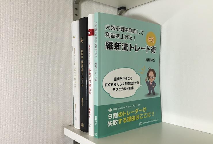 各種ラインを使ったFXトレードを解説した投資関連書籍