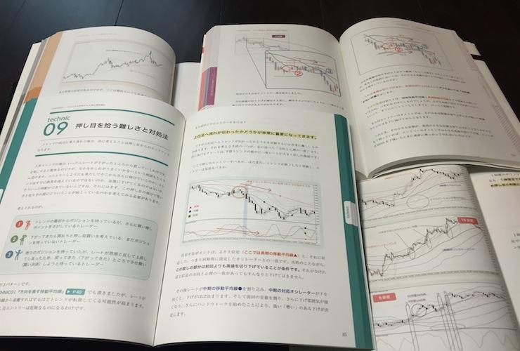 様々なテクニカル分析を解説した4冊のFXトレード教本